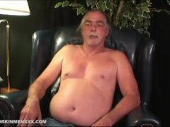 Mature Amateur George Jacking Off