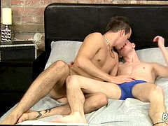 hottest green queer lads movie and boy cum out movie Luke Takes Long Cock Up