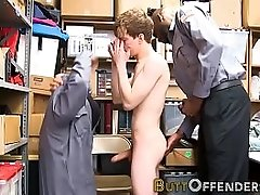 Shoplifter gets jizzed on